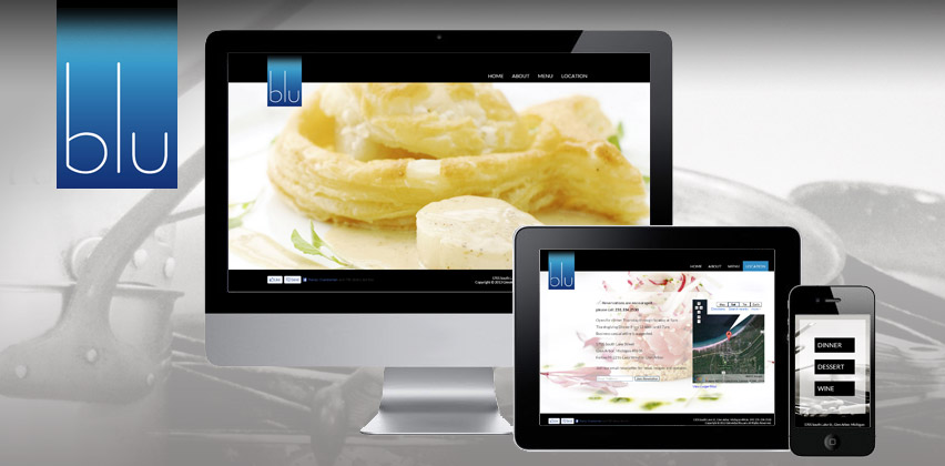 Responsive Web Design for GlenArborBLU.com
